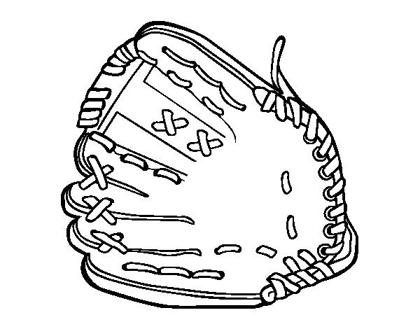Lujo Páginas Para Colorear De Béisbol Para Niños Ornamento