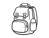Dibujo de Mountain backpack