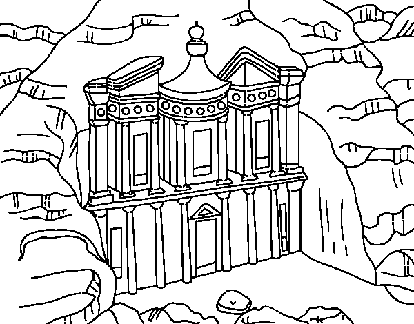 Seven Wonders World Coloring Pages For Kids - Coloring Home | 470x600