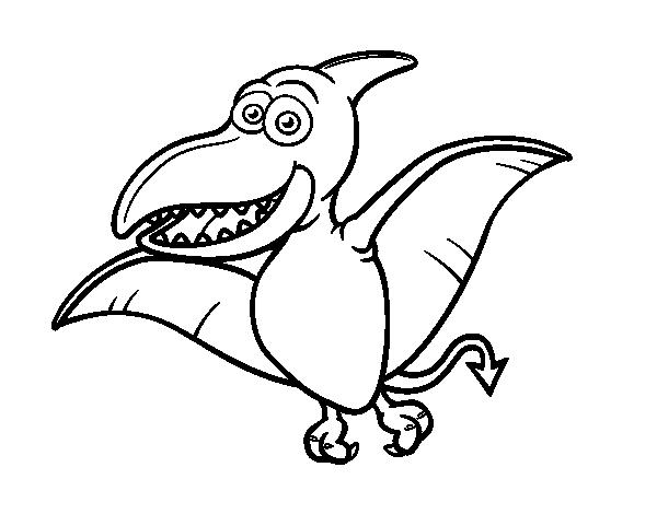 Pterosaur coloring page - Coloringcrew.com