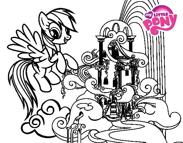 Lujoso Mi Pequeña Pony Equestria Girls Para Colorear