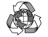 Recycling world coloring page