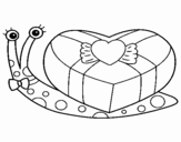 Snail 2 coloring page
