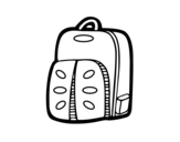 Sports Backpack coloring page