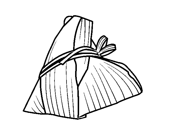 Taiwanese Roll coloring page
