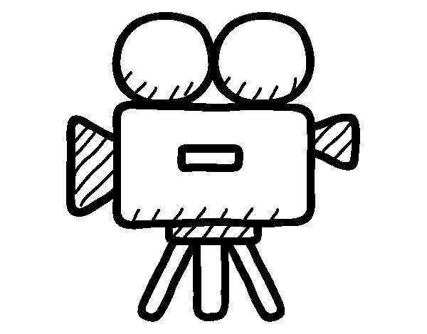 Video camera coloring page - Coloringcrew.com
