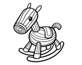 Woody horse coloring page