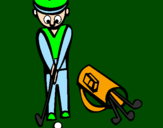 Coloring page Golf II painted byvioleta
