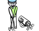 Coloring page Golf II painted byamanda