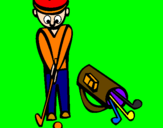 Coloring page Golf II painted bymaxi