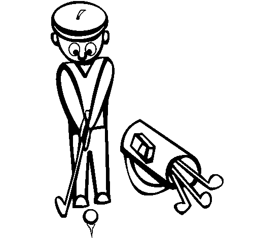 Coloring page Golf II painted bypuff