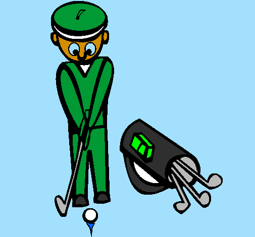 Coloring page Golf II painted byKaden13