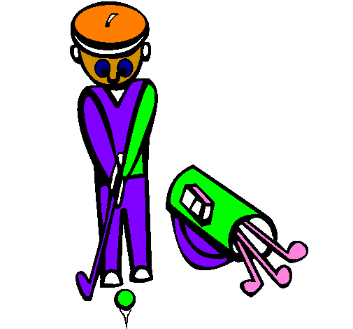 Coloring page Golf II painted bymartina ( 4 años)