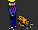 Coloring page Golf II painted byalex