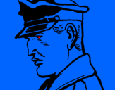 Coloring page Colonel painted byjake