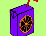 Coloring page Orange juice painted byHOLA