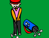 Coloring page Golf II painted byANOMYNOUS
