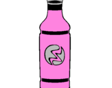 Coloring page Soft-drink bottle painted bydestiny pickrtt