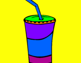 Coloring page Milkshake painted by*bRiTtNeY*