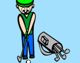 Coloring page Golf II painted byJorge21