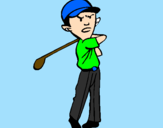 Coloring page Golf painted bysamuel