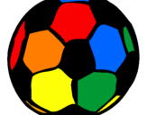 Coloring page Football painted byMax