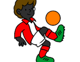 Coloring page Football painted byajjjjjjj :)