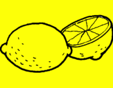 Coloring page lemon painted byjudit   bemanv mt