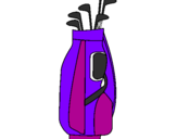 Coloring page Golf club painted bychofitas
