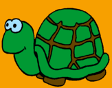 Coloring page Turtle painted bydavianna2001