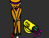 Coloring page Golf II painted byMATHEUS