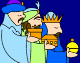 Coloring page The Three Wise Men 3 painted bymaria