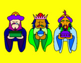 Coloring page The Three Wise Men 4 painted byFFFDoso