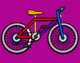 Coloring page Bike painted byAYLENPONCE