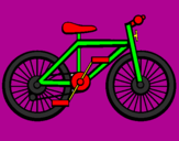 Coloring page Bike painted byJelena