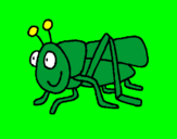 Coloring page Grasshopper 2 painted byL DRAGOA