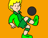 Coloring page Football painted byGIULIA