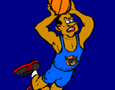 Coloring page Slam dunk painted byatila