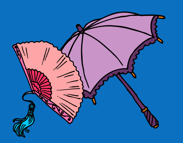 Fan and umbrella