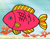 Coloring page Fish to eat painted bymikayla