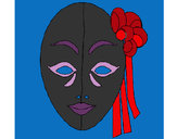 Coloring page Italian mask painted byKissy316