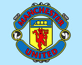 Coloring page Manchester United FC crest painted byBigricxi