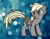 Coloring page Derpy painted byK-BRONY