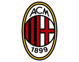 Coloring page AC Milan crest painted byStriker