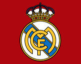 Coloring page Real Madrid C.F. crest painted byStriker