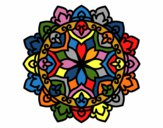 Coloring page Celtic mandala painted byredhairkid