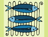 Coloring page Fish painted byneidamac