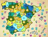 The provinces of Spain