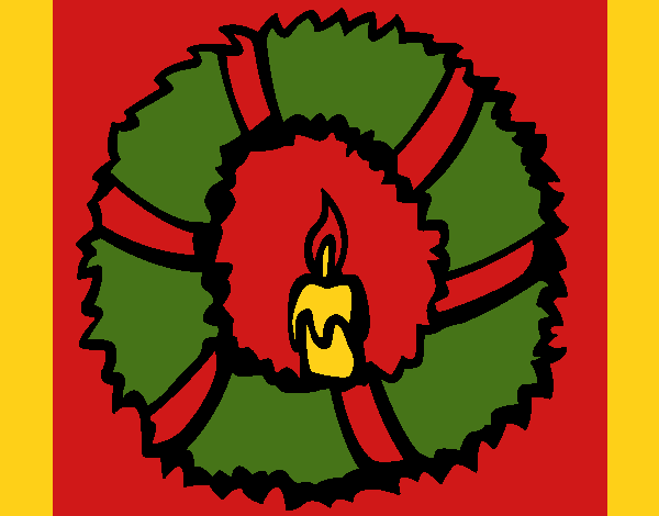 Christmas wreath II