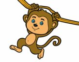 201718/monkey-hanging-from-a-branch-animals-the-jungle-painted-by-tricky0225-117202_163.jpg